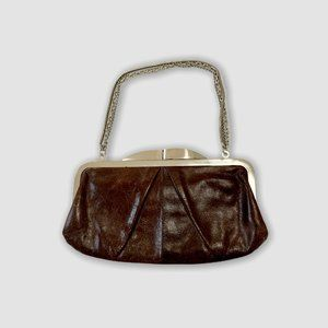 HOBO LEATHER CLUTCH WALLET PURSE